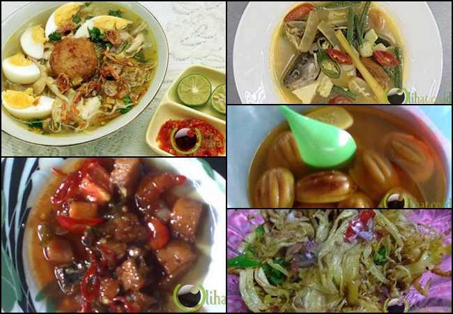 Menu Masakan dan Jajanan Khas Banjar Yang Populer