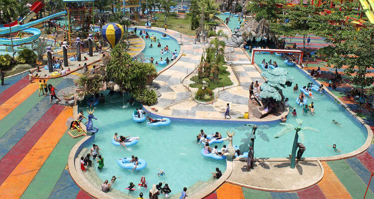 pesona modern waterboom Banjarmasin