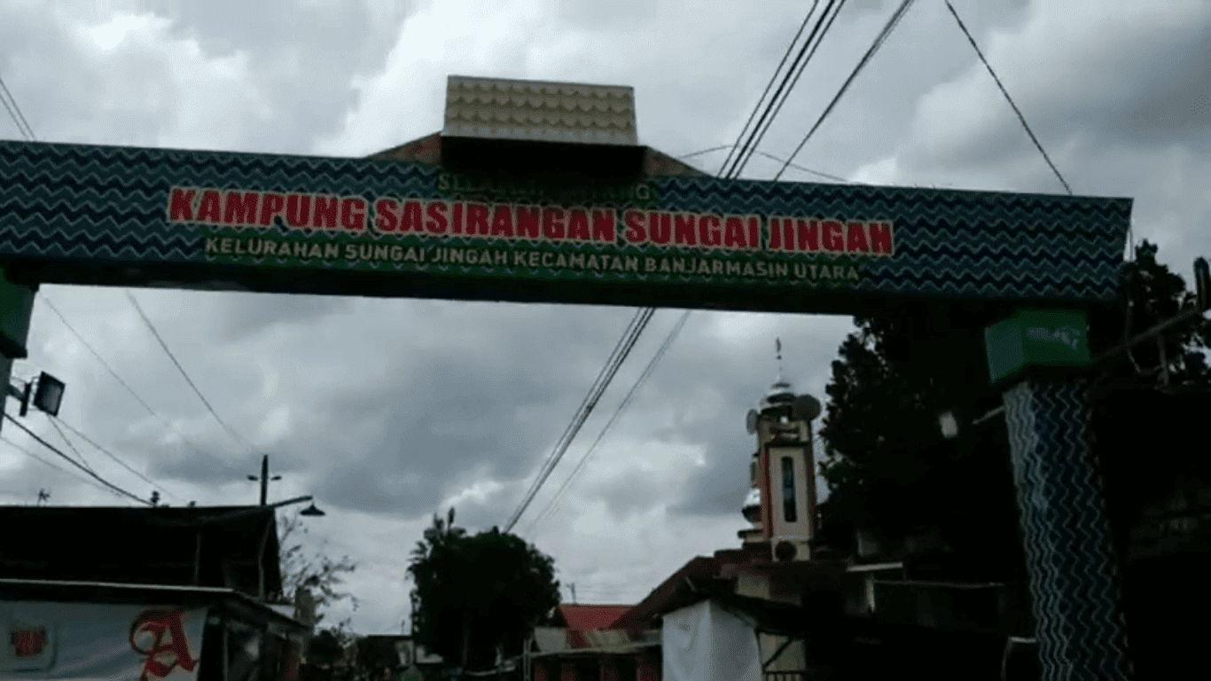Wisata Kampung Sasirangan Banjarmasin